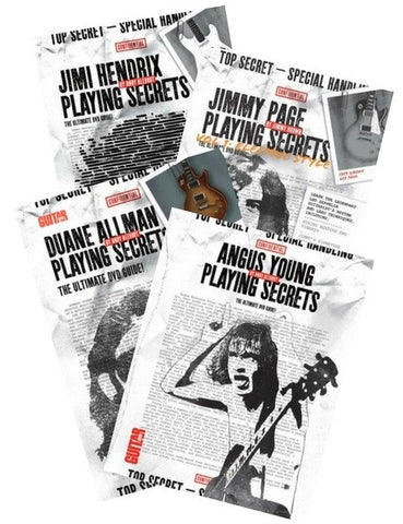 Playing Secrets DVD Quadruple Pack