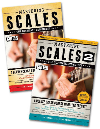 Mastering Scales DVD Combo Pack