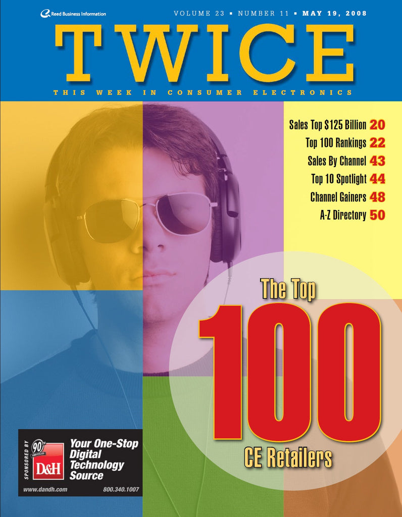 TWICE Top 100 Consumer Electronics Retailers Report - 2008