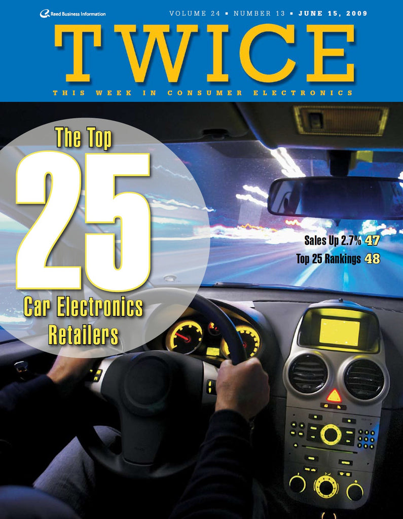 TWICE Top 25 Car Electronics Retailers - 2009