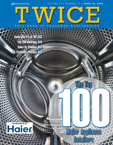 TWICE Top 100 Major Appliance Retailers Report - 2009