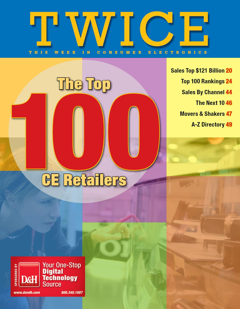 TWICE Top 100 Consumer Electronics Retailers Report - 2010