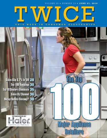TWICE Top 100 Major Appliance Retailers Report - 2010