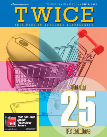 TWICE Top 25 PC Retailer Rankings - 2008