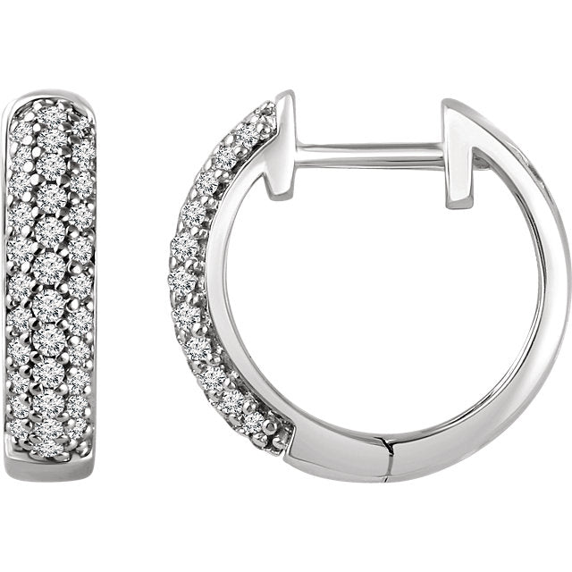 Multi-Row Hoop Earrings