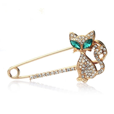 Crystal Brooch Lapel Pin