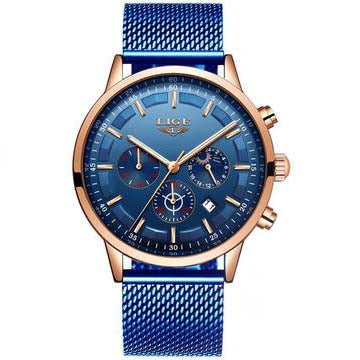 Elegant Styel Blue Watch