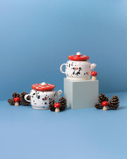 Made by Marzia Fungo Teapot Pink Interior