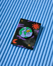 AGA GIECKO x MAì EARTH ENAMEL PIN