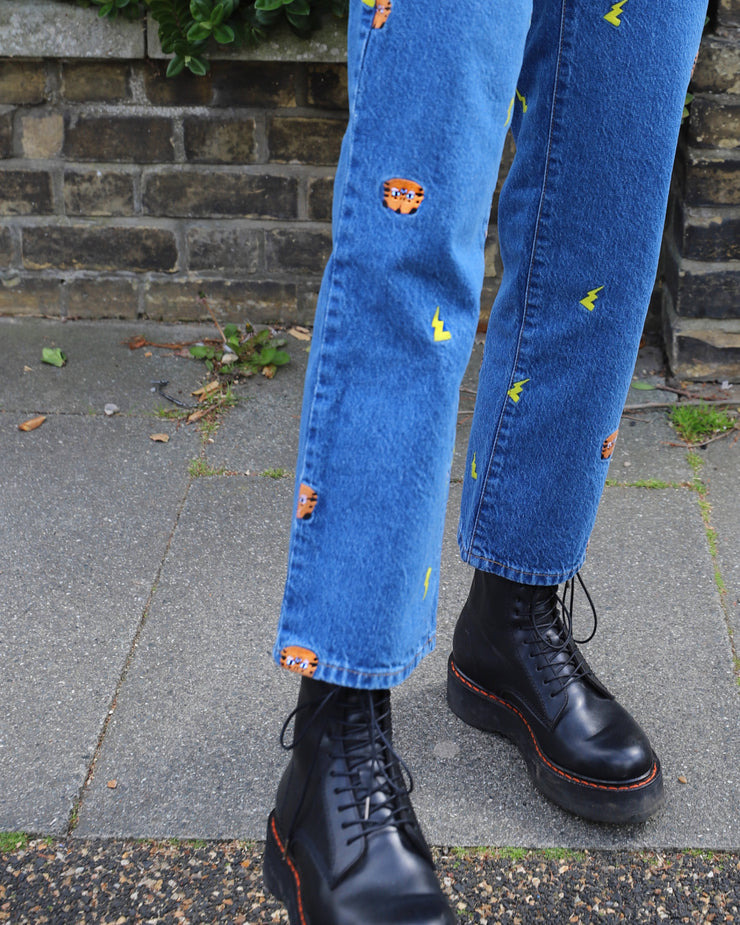 Misfit Maì Embroidered Jeans