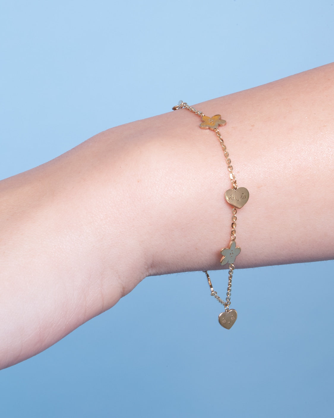 LOVES ME NOT BRACELET 9kt gold