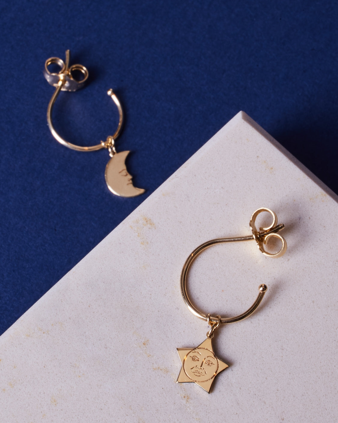 NOTTE EARRINGS 9kt gold