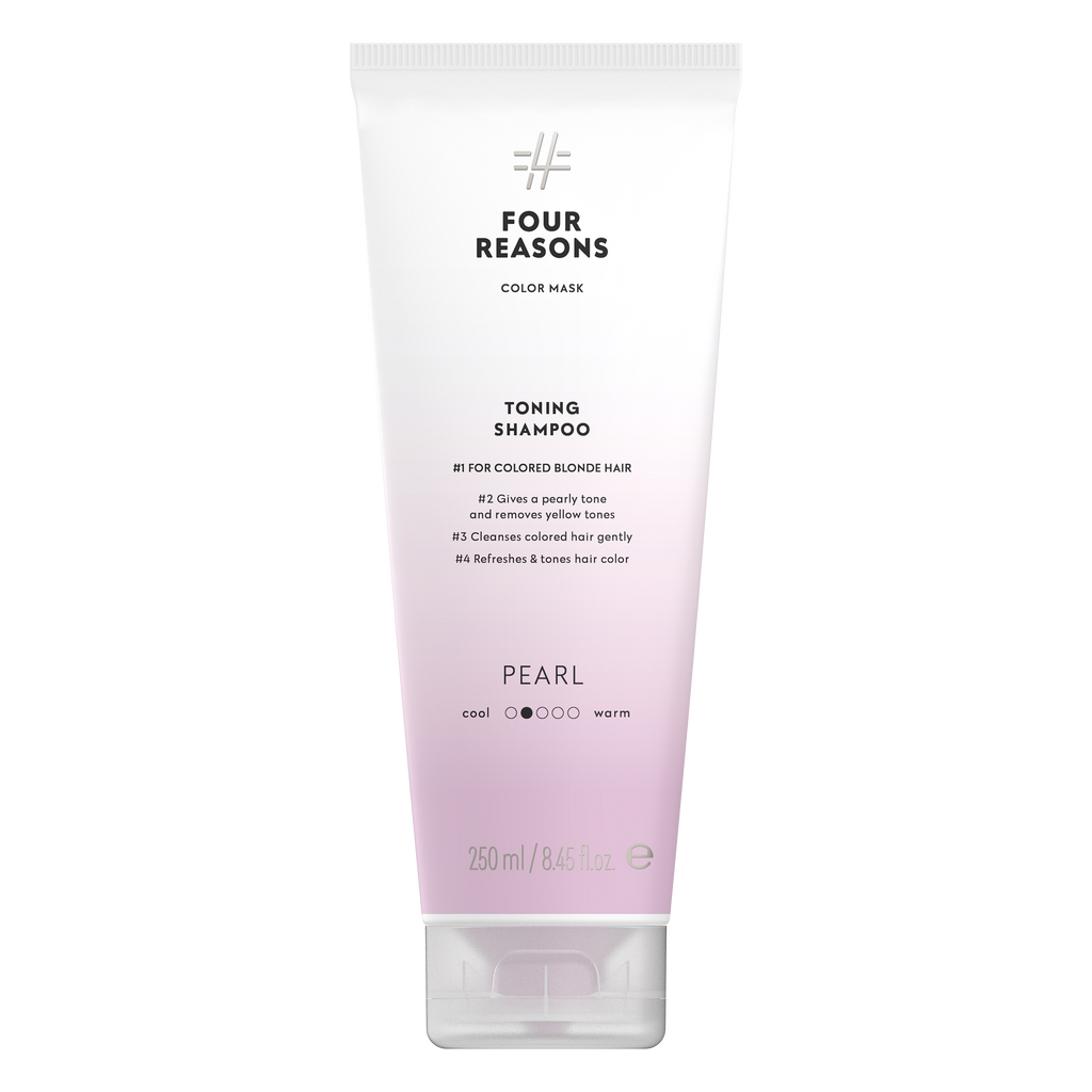 Four Reasons Color Mask Toning Shampoo Pearl
