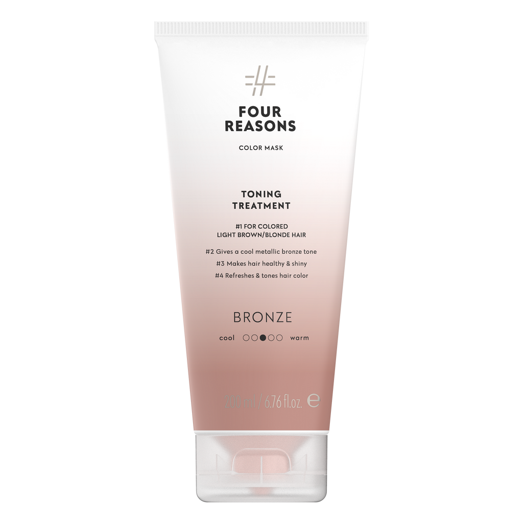 Four Reasons Color Mask Toning Treatment Bronze, 200ml, sävyttävä tehohoito, Bronze