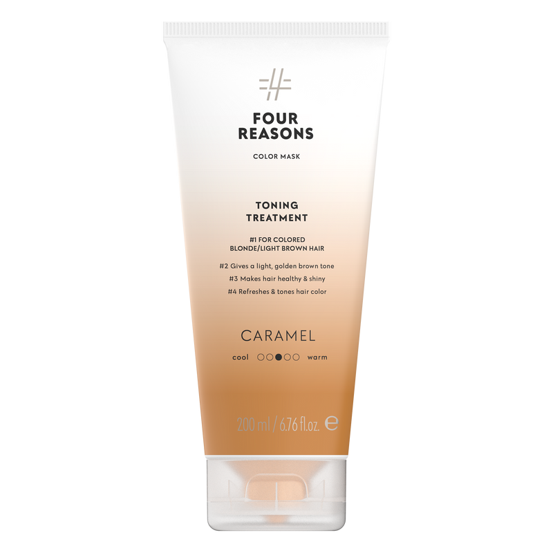 Four Reasons Color Mask Toning Treatment Caramel, sävyttävä tehohoito, 200ml