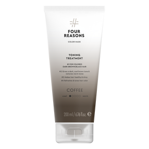 Four Reasons Color Mask Toning Treatment Coffee, sävyttävä tehohoito, 200ml