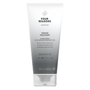 Four Reasons Color Mask Toning Treatment Graphite, sävyttävä tehohoito, 200ml