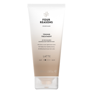 Four Reasons Color Mask Toning Treatment Latte, sävyttävä tehohoito, 200ml
