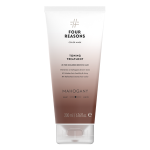 Four Reasons Color Mask Toning Treatment Mahogany, 200ml, sävyttävä tehohoito, Mahogany