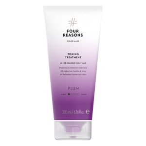 Four Reasons Color Mask Toning Treatment Plum, sävyttävä tehohoito, 200ml