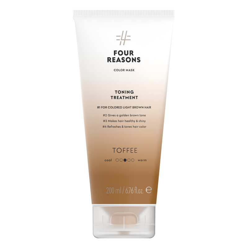 Four Reasons Color Mask Toning Treatment Toffee, sävyttävä tehohoito, 200ml,