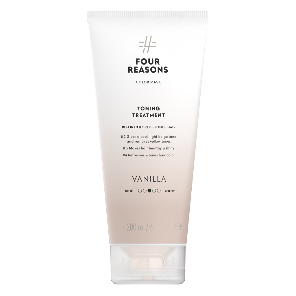 Four Reasons Color Mask Toning Treatment Vanilla, sävyttävä tehohoito, 200ml,