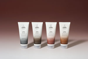 Four Reasons Color Mask Toning Treatment ruskeille hiuksille
