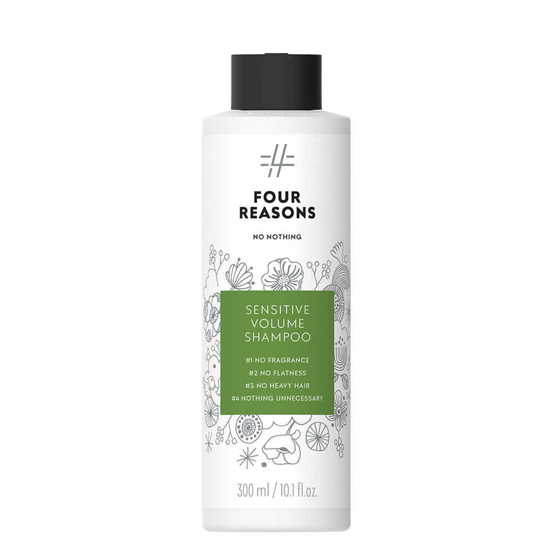 Four Reasons No Nothing Sensitive Volume Shampoo 300 ml