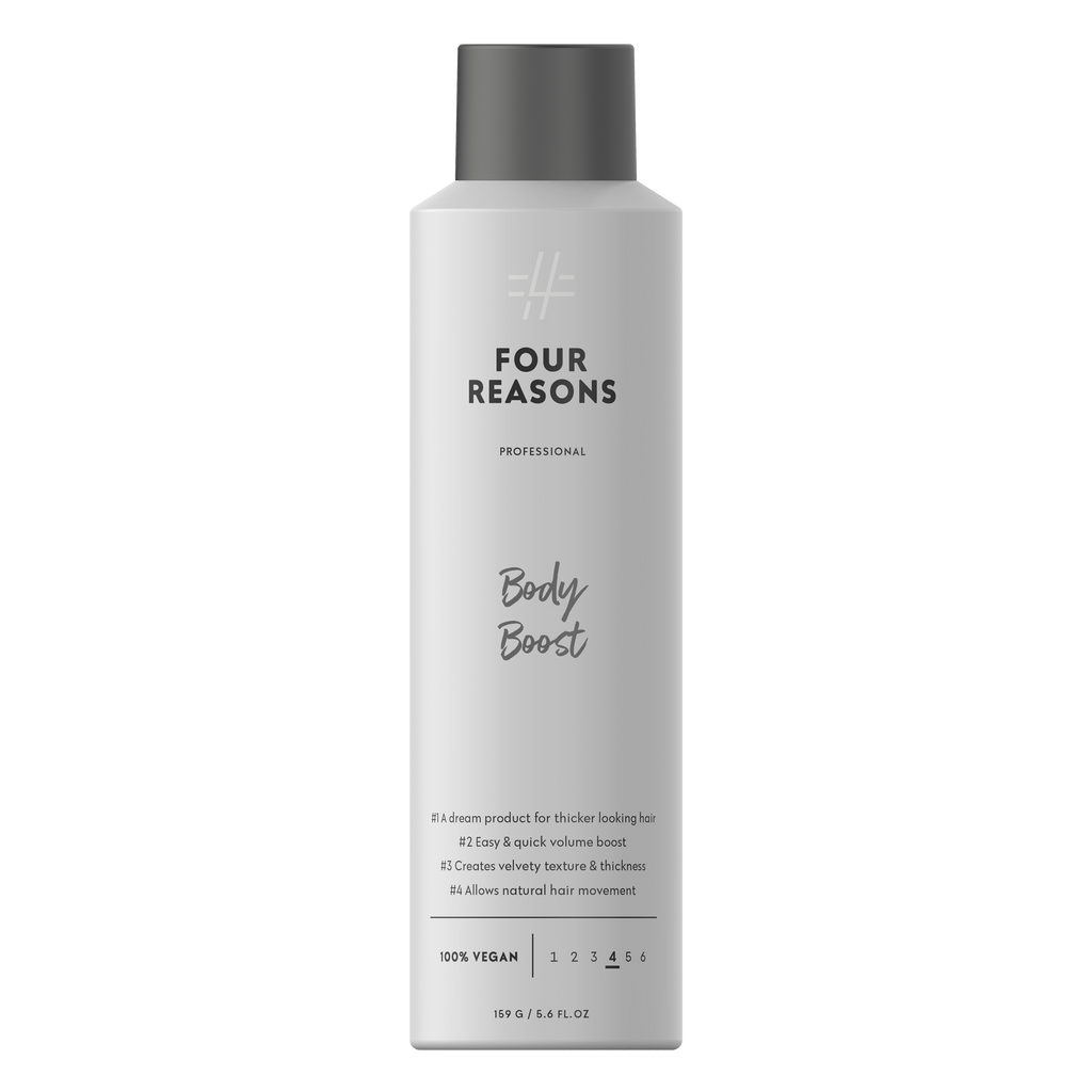 Four Reasons Professional Body Boost, tuuheuttava volyymisuihke, 250 ml