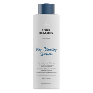 Four Reasons Professional Deep Cleansing Shampoo, 250ml,  syväpuhdistava shampoo joka poistaa hiuksesta epäpuhtauksia ja muotoilu-tuote jäämiä