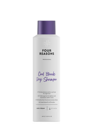 Four Reasons Professional Cool Blonde Dry Shampoo, 250ml, hopeanhohtoinen kuivashampoo