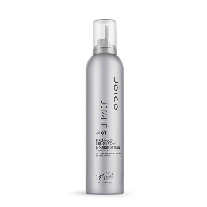 Joico JoiWhip Firm-Hold Design Foam 300 ml, tukea ja kuohkeutta muotovaahto curly girl method