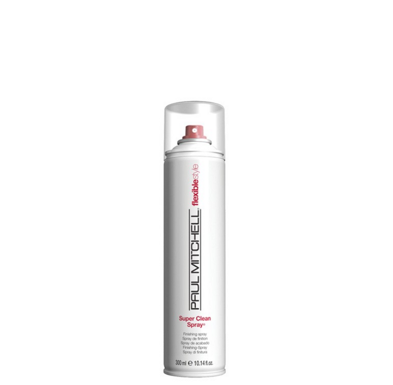 Paul Mitchell Super Clean Spray 300 ml, kiiltoa antava kevyt viimeistelysuihke nordic hair house
