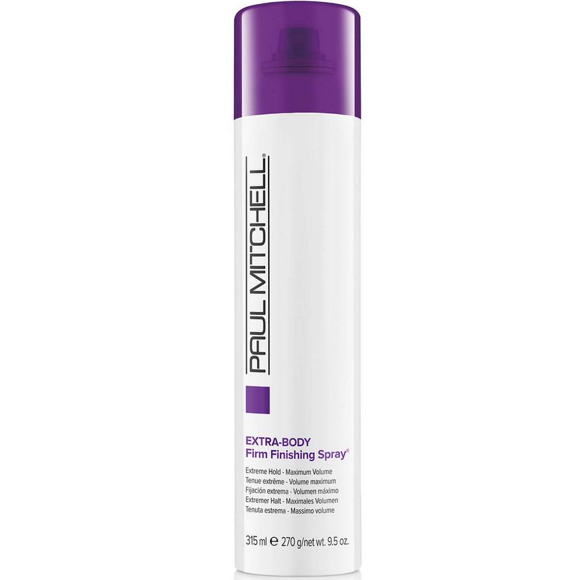 Paul Mitchell Extra-Body Firm Finishing Spray 300 ml, Supervahva, tuuheuttava viimeistelykiinne nordic hair house verkkokauppa edullinen four reasons olaplex kcprofessional kotimainen