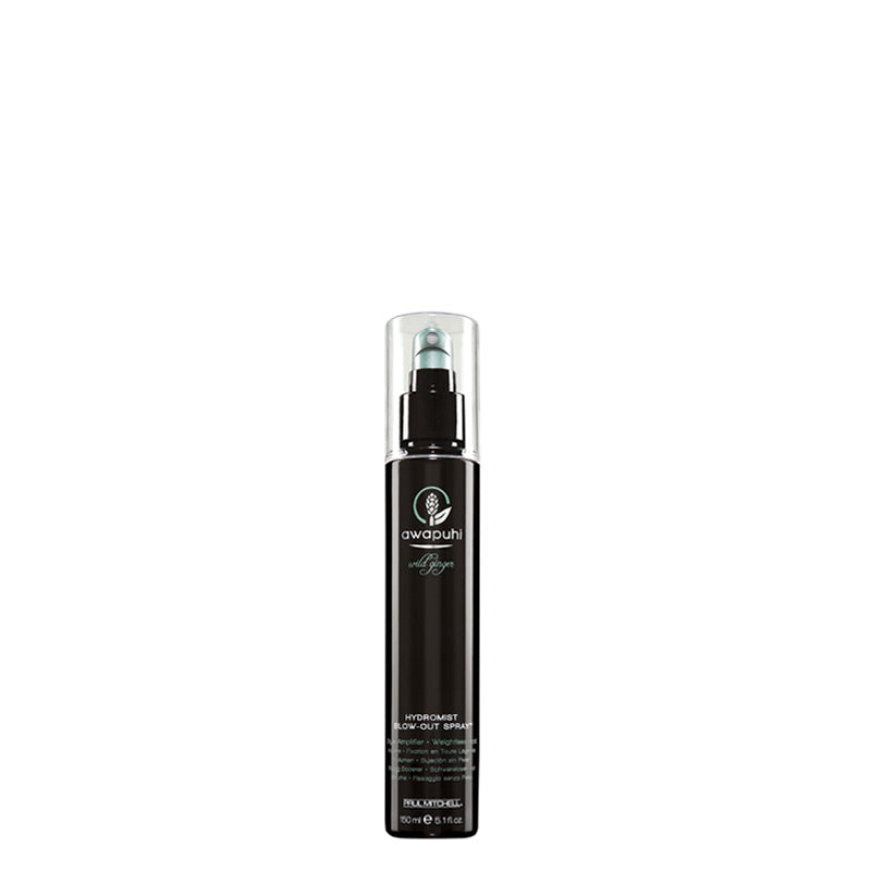 Paul Mitchell Awapuhi Wild Ginger Hydromist Blow-Out Spray 150 ml, tuuheuttava föönaussuihke kuohkeakampaus rullakampaus inkivääri