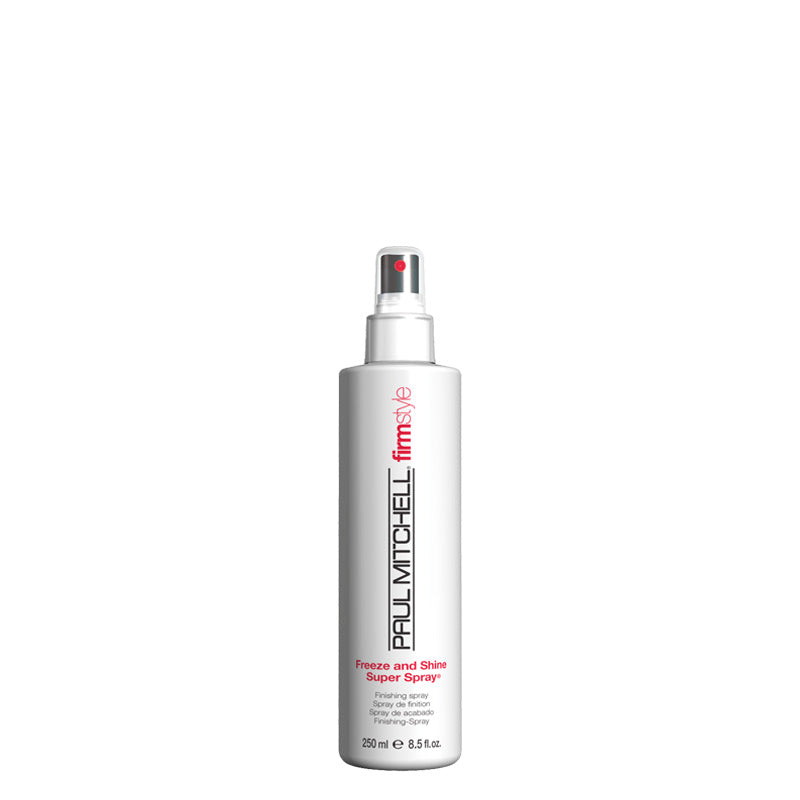 Paul Mitchell Freeze And Shine Super Spray 250 ml, aerosoliton timanttinen hiuslakka geeli geelispray pumppulakka kiiltosuihke nordic hair house olaplex