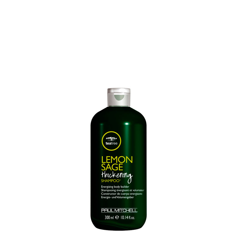 Paul Mitchell Tea Tree Lemon Sage Thickening Shampoo 300 ml, tuuheuttava, virkistävä nordic hair house sitruuna salvia teepuuöljy