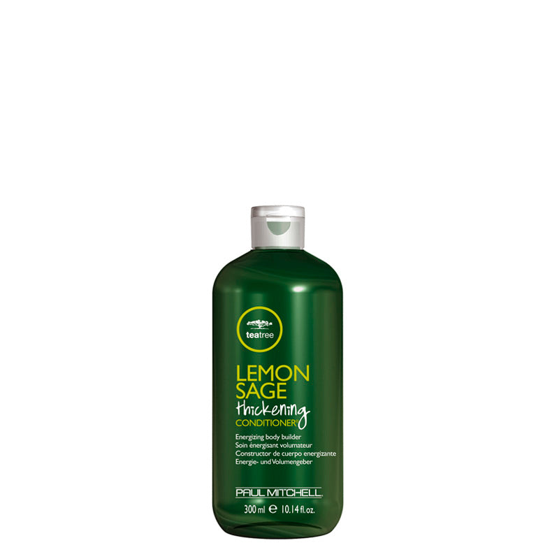 Paul Mitchell Tea Tree Lemon Sage Thickening Conditioner 300 ml, tuuheuttava, energisoiva hoitoaine nordic hair  house edulline verkkokauppa olaplelx four reasons pro