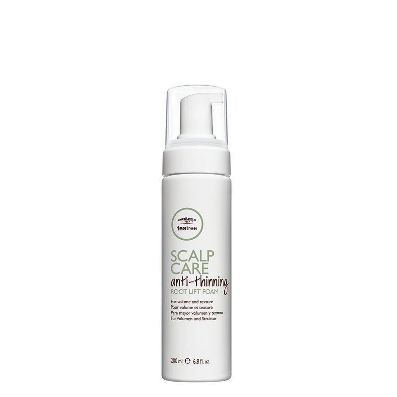 Paul Mitchell Tea Tree Scalp Care Anti-Thinning Root Lift Foam 200 ml, tuuheuttava tyvikohottaja nordic hair house olaplex