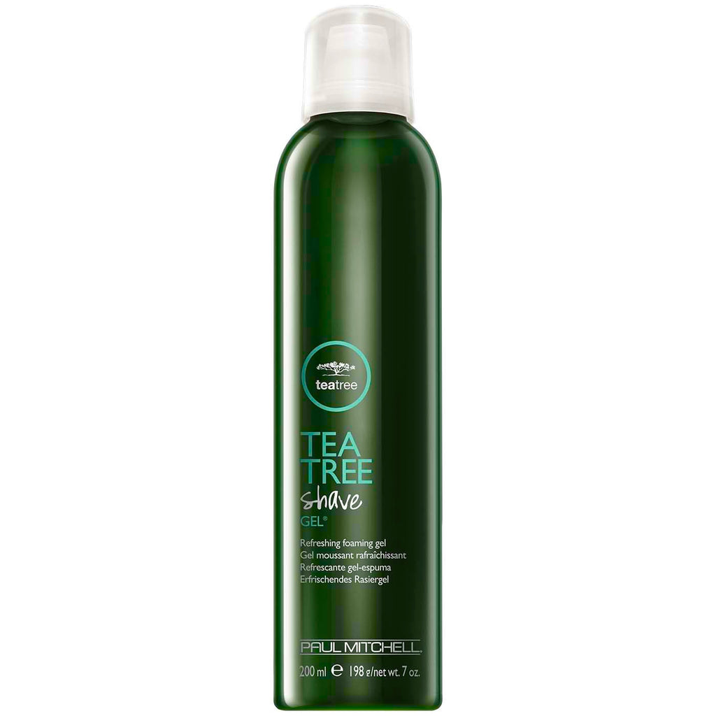 Paul Mitchell Tea Tree Shave Gel 200 ml, virkistävä, vaahtoava partageeli