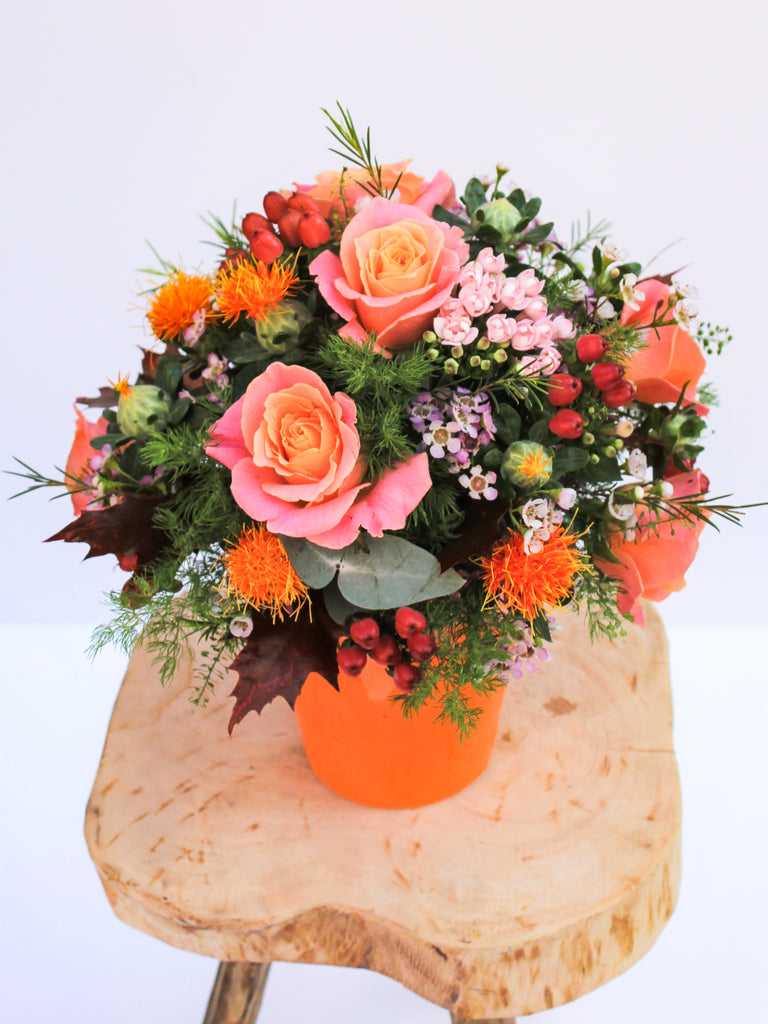 Marigold Flower Arrangement