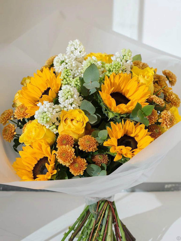 Mellow Sunshine Hand-tied