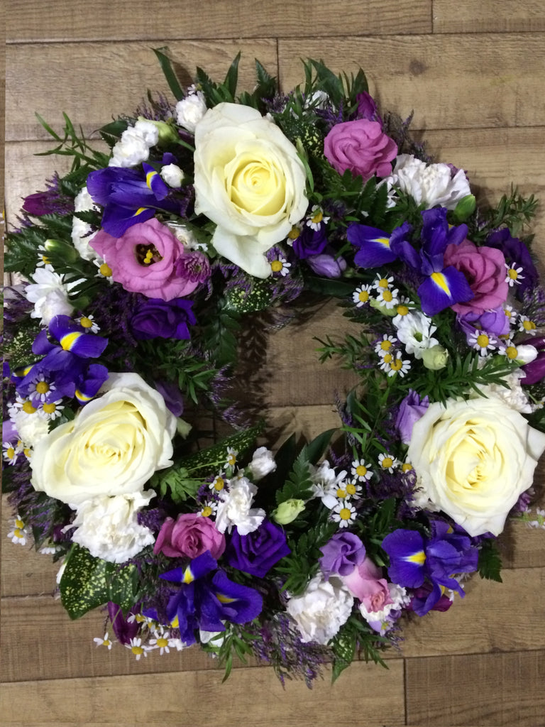Wreath Pink & Lilac