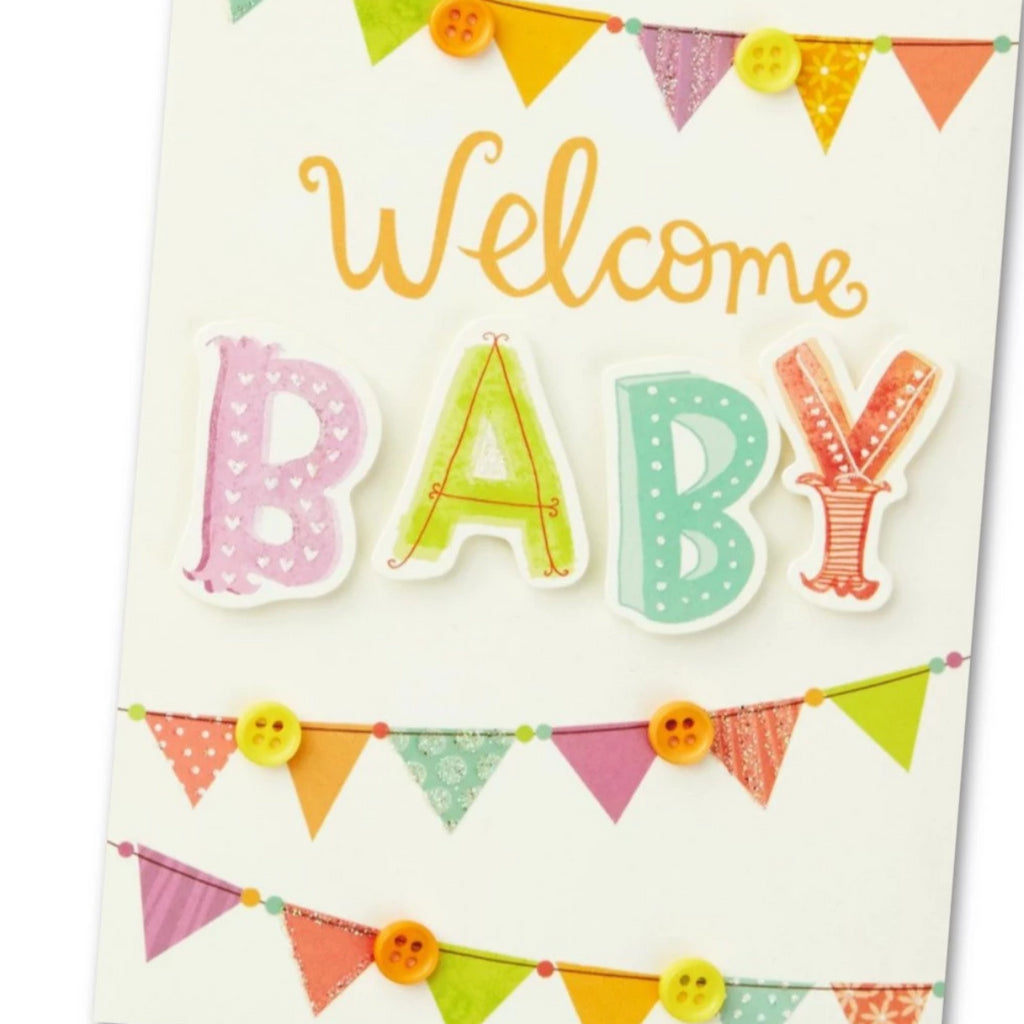 New Baby Greetings Card (will vary)