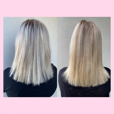 Inner Hair Nutrition Bites Before and After Results