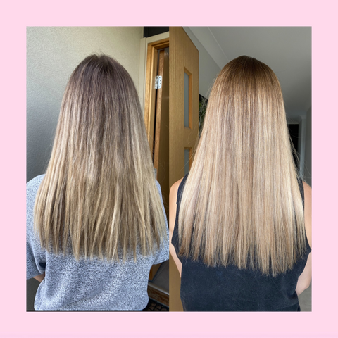 Inner Hair Nutrition Before and After results