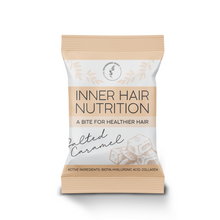 Load image into Gallery viewer, Inner Hair Nutrition Salted Caramel Product Image