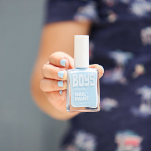 Blue Boys Nail Polish