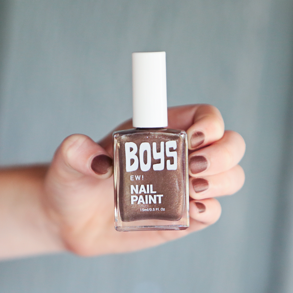 Brown Boys Nail Polish