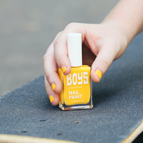 Yellow Boys Nail Polish